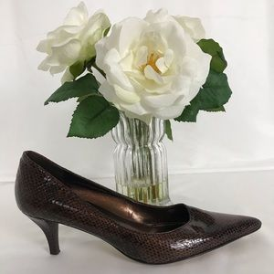 Bandolino Snake Embossed Pumps